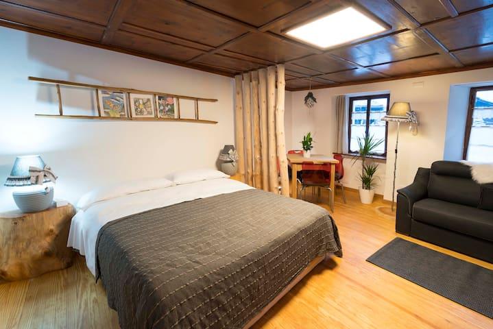 Mini suite, Gressoney St Jean, Central Square