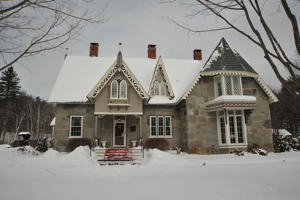 Beautiful granite stone mansion completely restored in 2011-2012