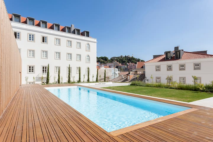 Sol ao Castelo - Downtown w/Pool, Terrace, Parking