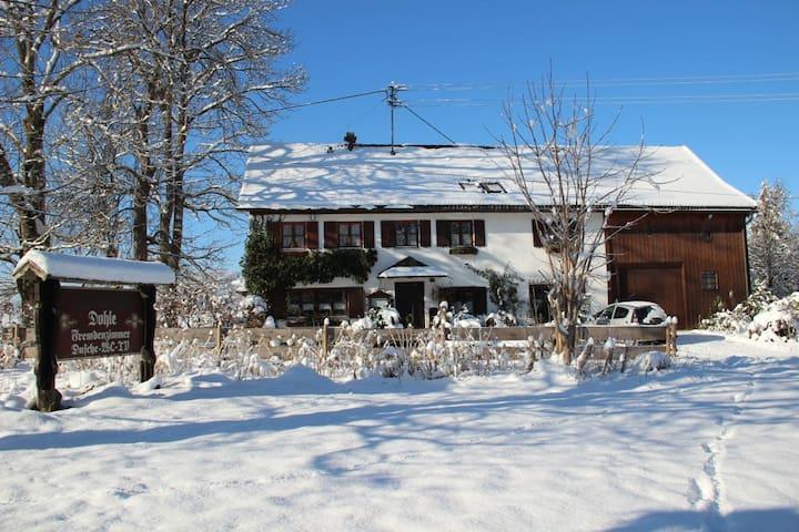 Gästehaus Dohle - Berge, Wiesen, Seen... - Oy-Mittelberg - Guesthouse
