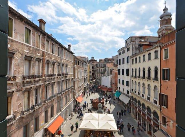 50 STEPS TO RIALTO BRIDGE - Venise - Appartement