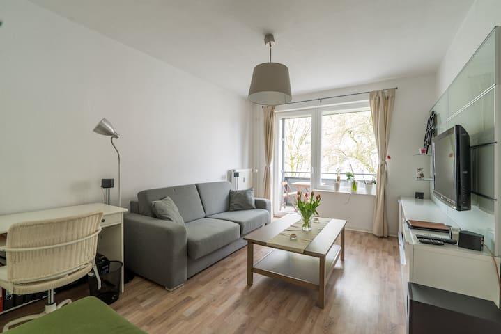 2-Zimmer Wohnung in Barmbek - Hamburg - Condominium