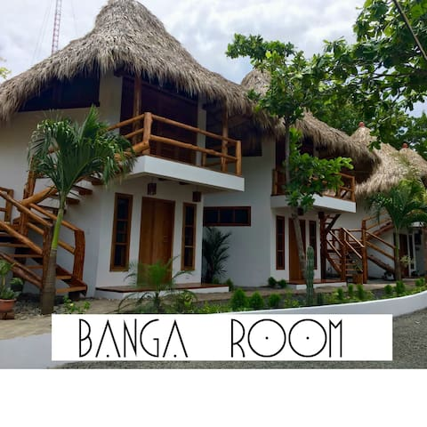 CASITAS PACIFIC| BANGA ROOM IN PLAYA GUASACATE - Tola - Nature lodge
