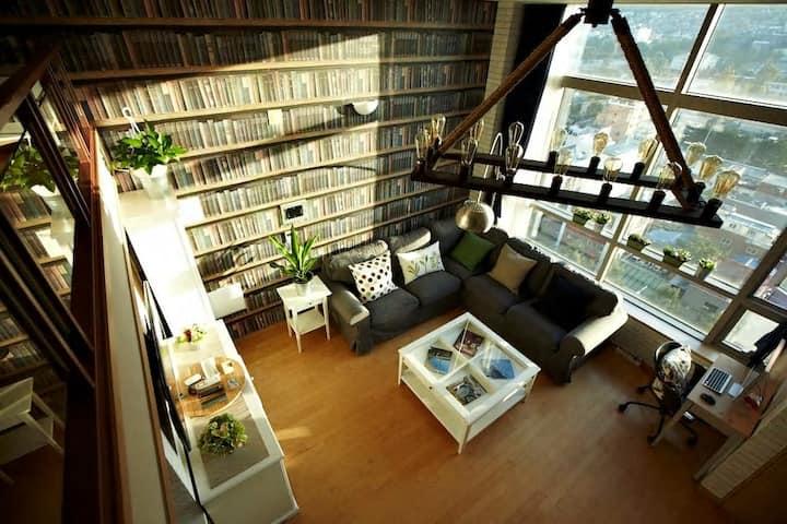 Luxurious Loft@Seoul@Itaewon@Myungdong @Hongdae