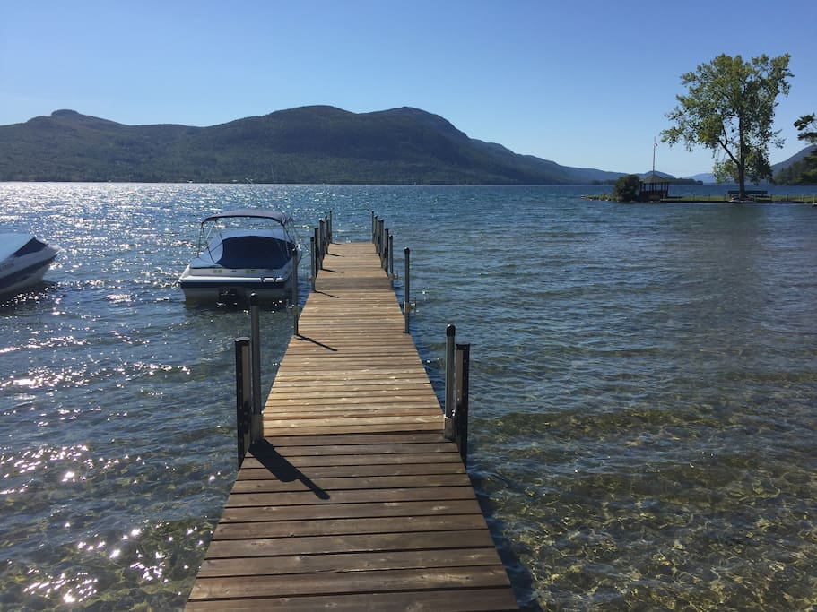 Your dock space at Sabbath Day Point Beach