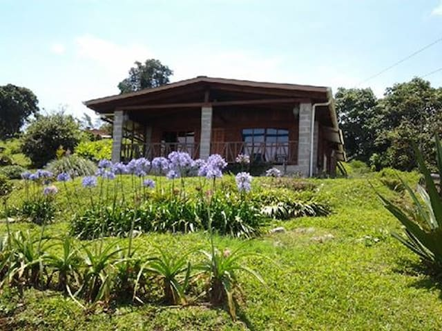 House on Working Farm with Views - Rumah