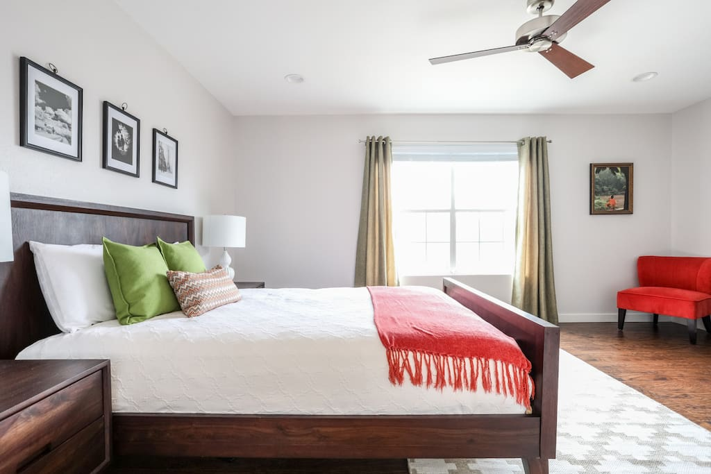Wake up in this room feeling refreshed and ready to seize the day!