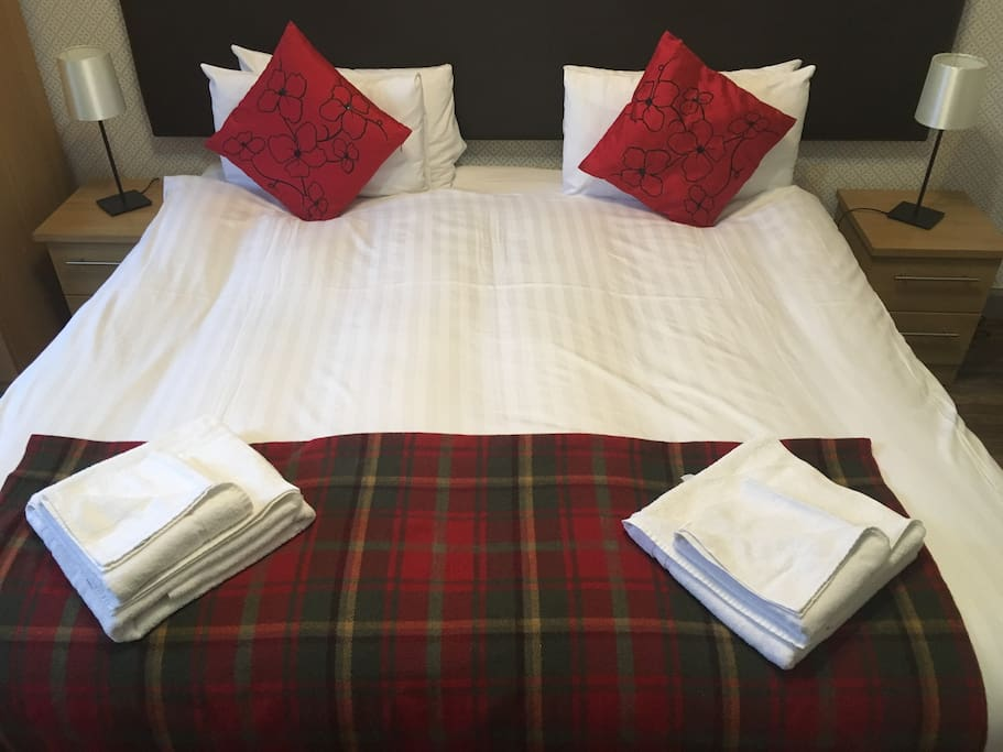 Bedroom - beds could be make as singles or double