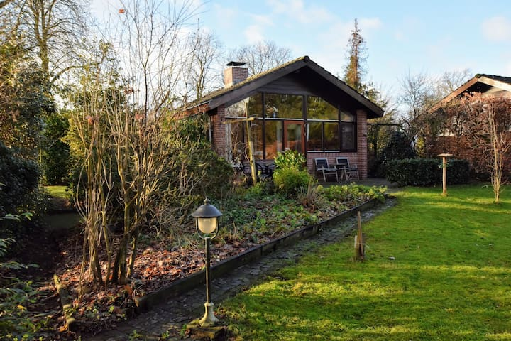 Authentic, pleasant holiday home with spacious garden and a view of the meadows