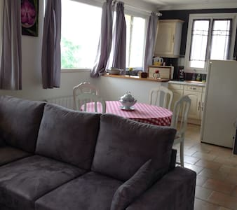 T2 dans villa avec une grande terrasse et parking - Menton - Apartment