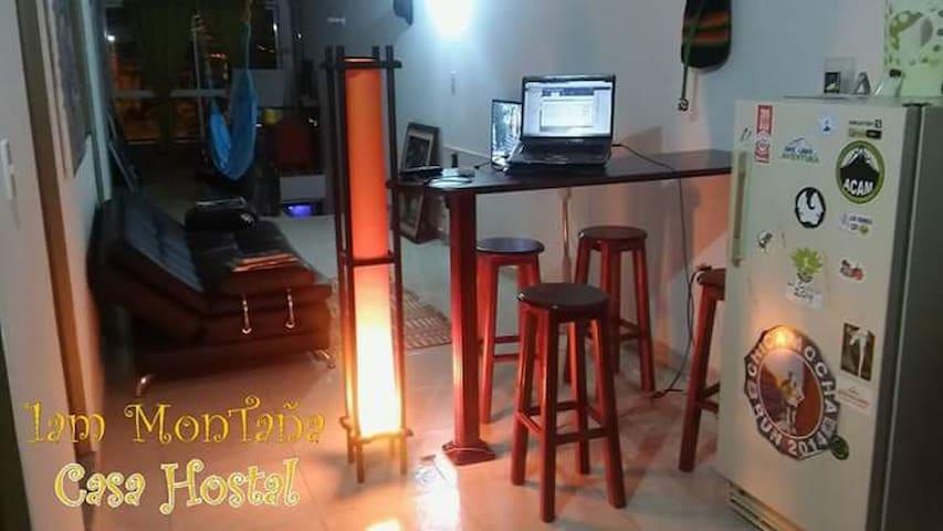Casa Hostal 1am MonTaña - San Gil - Casa de huéspedes