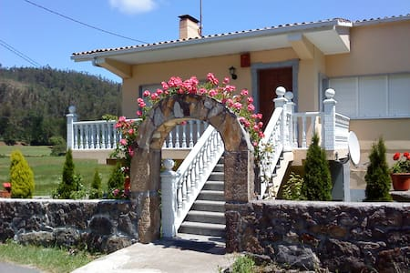 casa chalet cerca de playa de lires - Cee - Daire