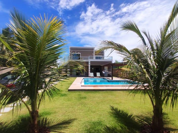 Ótima casa para relaxar, próximo à Praia Guarajuba