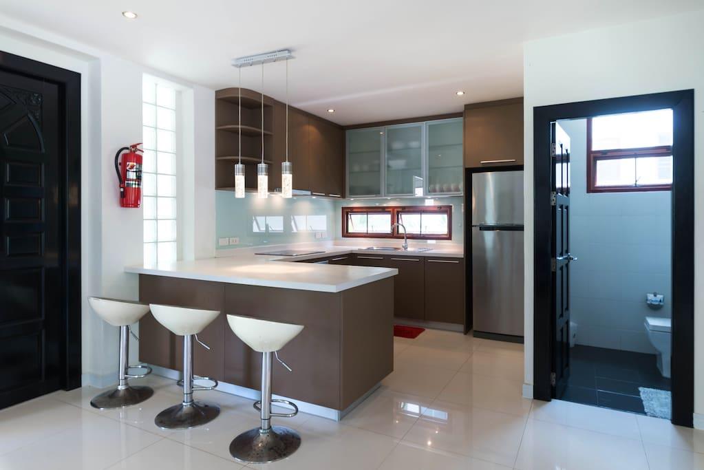 Convenient kitchen
