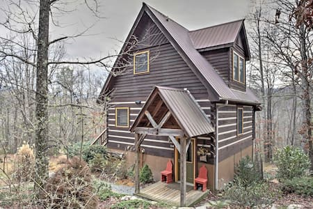 NEW! 'Paint Rock Cabin' 2BR Hot Springs Cabin - Hot Springs - Kisház