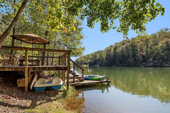 Red Canoe Cabin - Mr Lake Lure Vacation Rentals