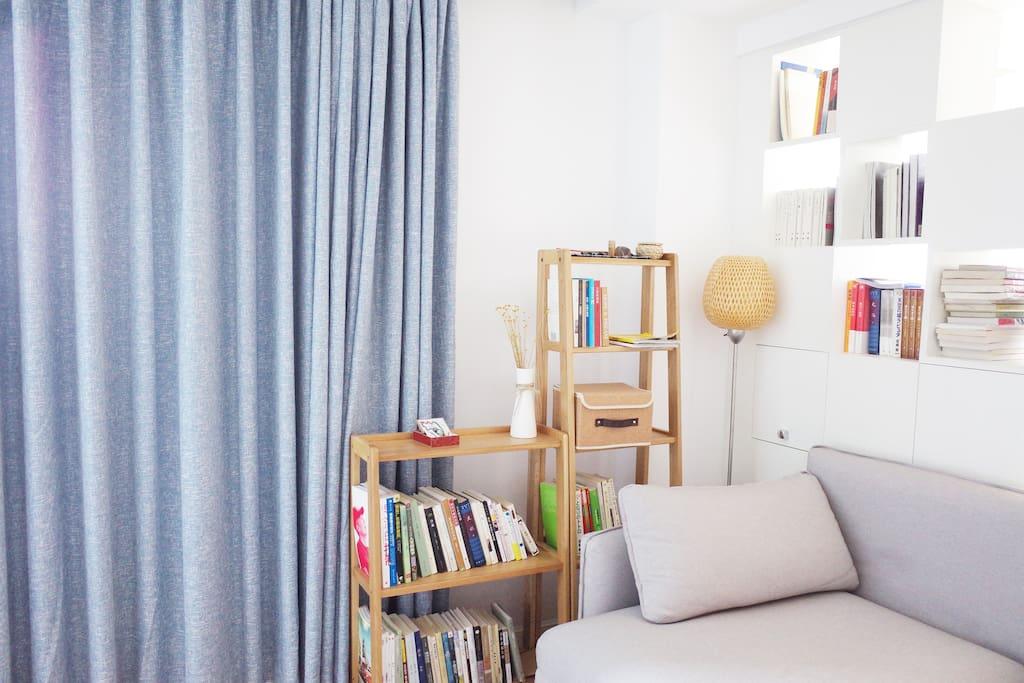 温馨舒适客厅可以使用