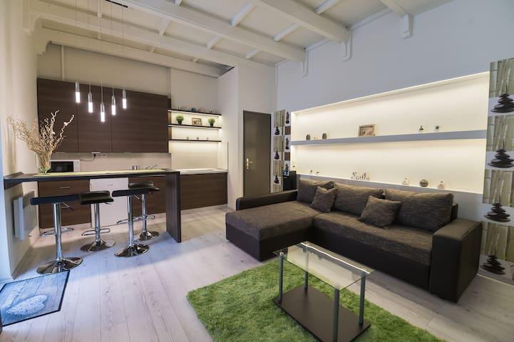 Aranyudvar Apartman - modern lakás a belvárosban