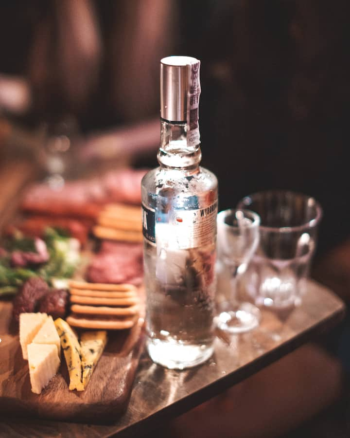Great Food + Great Vodka = <3