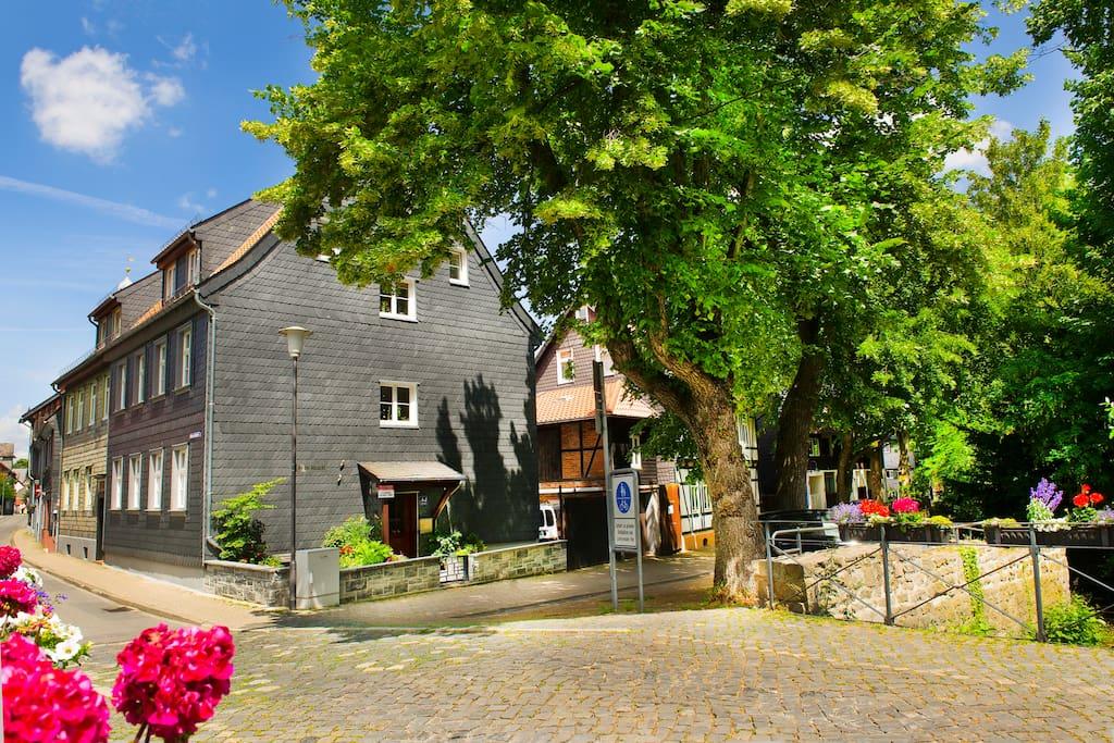 ferienwohnung abzuchtperle altstadt goslar wohnungen zur miete in goslar niedersachsen. Black Bedroom Furniture Sets. Home Design Ideas