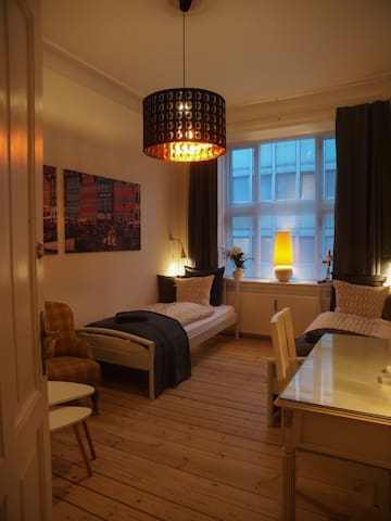 A unique room in central Copenhagen - Kopenhagen