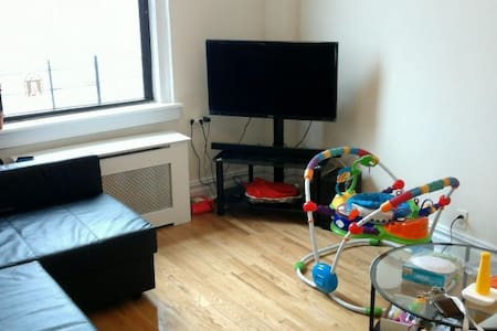 Comfy apt./Columbia/up to 4 ppl - New York - Apartment
