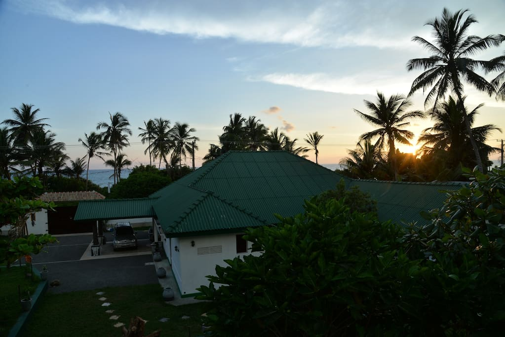 Nice beach from villa