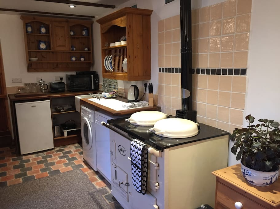 Kitchen and Aga