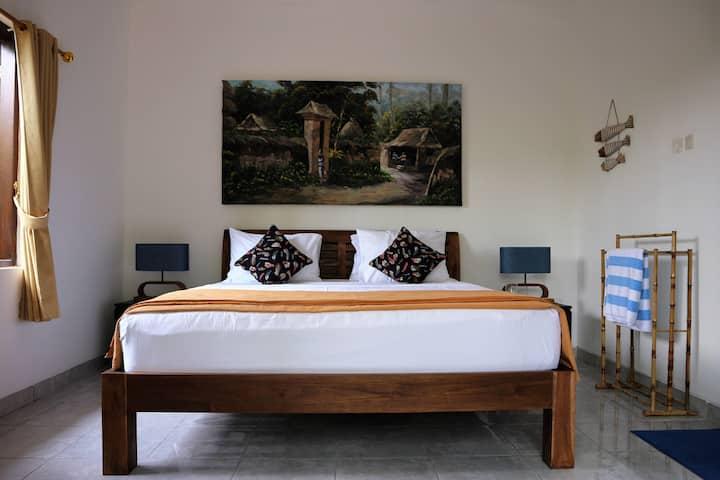 Splendid garden-facing room, minutes to everywhere