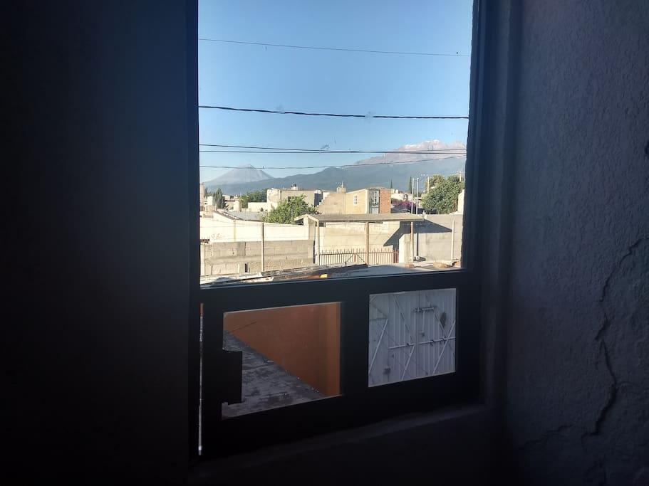 Preciosa vista a los volcanes