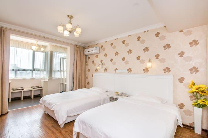 港湾一号豪华标准房/漓江边/高性价比公寓式酒店/近象鼻山、两江四湖