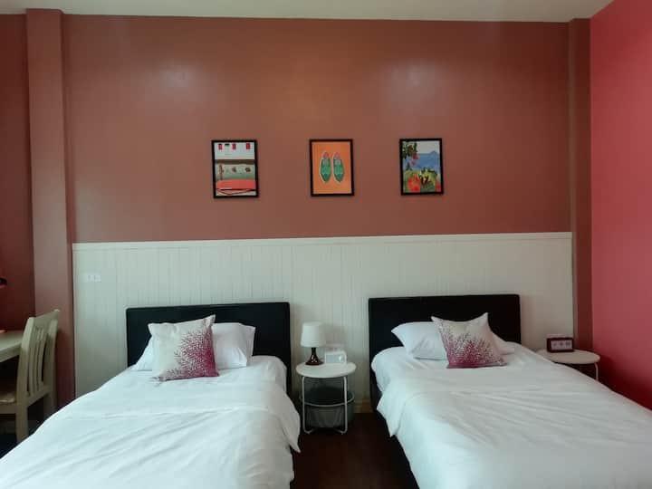 Morinaka Aki Room (ห้องเตียงแฝด)