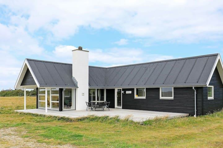Casa de vacaciones relajada en Thisted Jutland con terraza