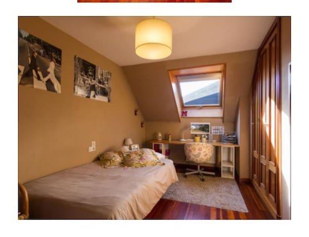Cuádruple familiar céntrica c/ baño - La Coruña - Bed & Breakfast