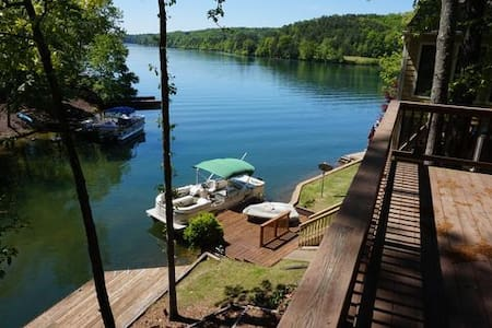 Quiet Home on Lake Arrowhead, GA - Waleska - บ้าน