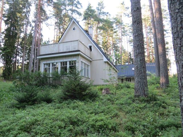 House with sauna on Nature Reserve - Vastse-Kuuste - Ev
