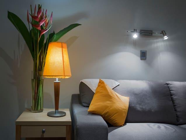 Lounge in the Premium Room.