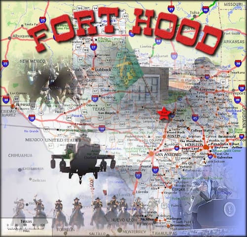 "Ft. Hood, "" The Great Place"" HOOAH! - Copperas Cove - Dom"
