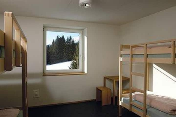 Bed in shared 4-bed room, Youth Hostel