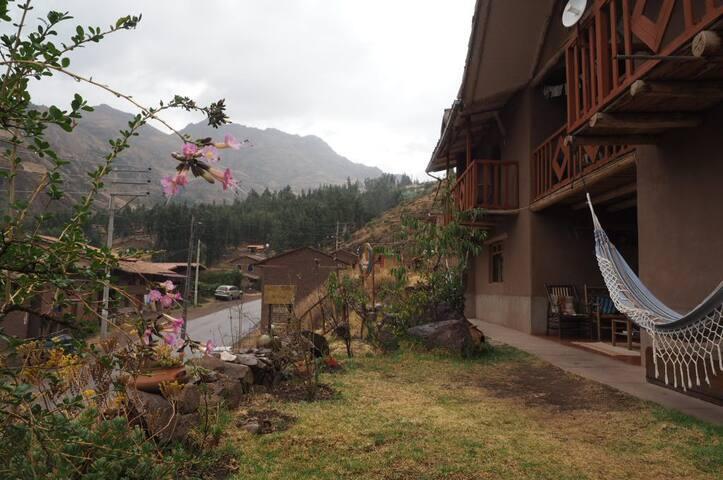 La Chakana Pisac Rm#7 - 2 twin beds, mountain view