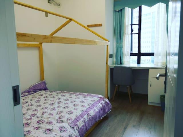 侧卧1.5米踏踏米小木屋床
