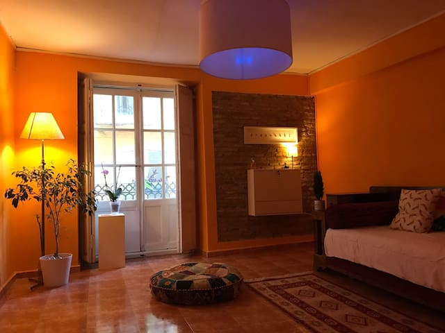 LARG SINGLE  private BED ROOM, SHARED FLAT - València - Byt