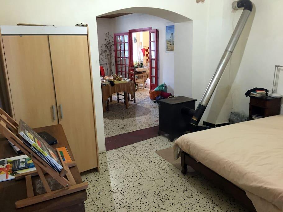 chambre 1 (contiguë à la salle à manger)