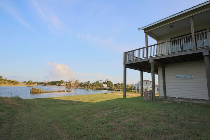 Waterfront Vacation home in North Galveston County