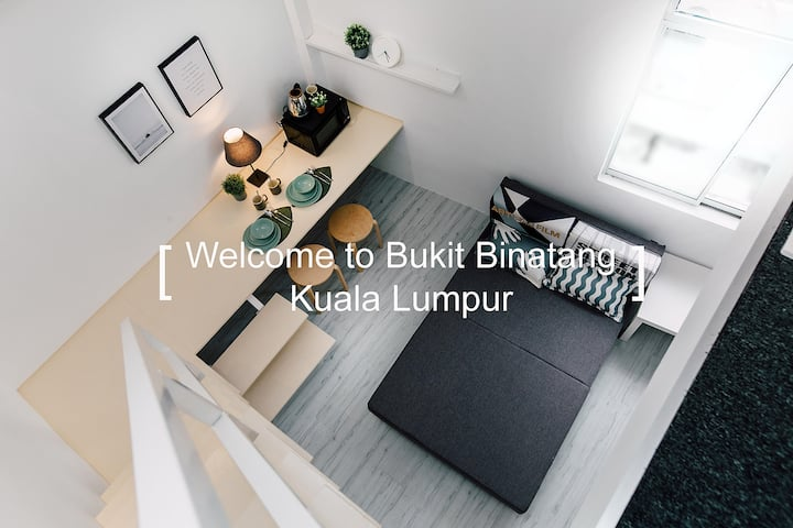 KS01 -Truly Bright & Stylist Room in Bukit Bintang