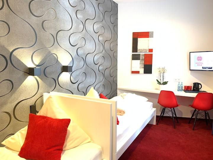 Hotel B54 Heidelberg- Zweibettzimmer