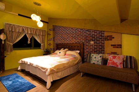 歐哈娜B雙人房 Ohana B Double Room - Sanxing Township