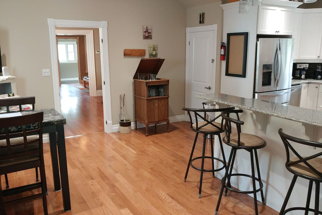 Kitchen/gathering area
