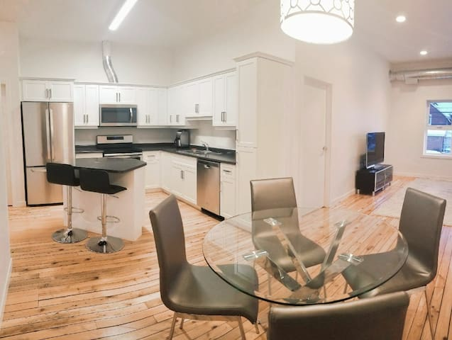 Lake of the Woods luxury downtown loft