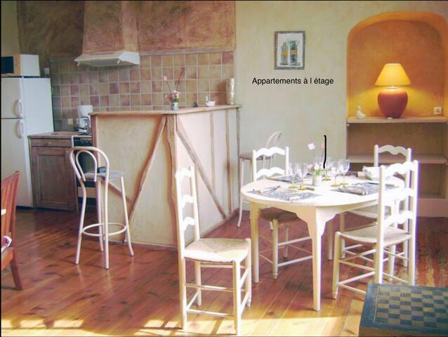 Bel appartement au centre du village